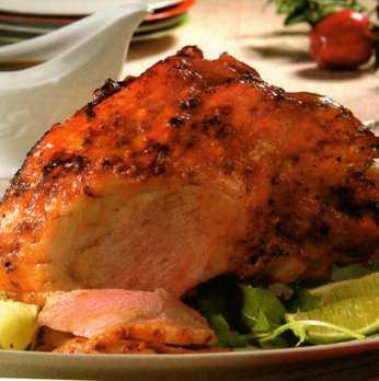 Receta de Pierna de cerdo al horno para navidad