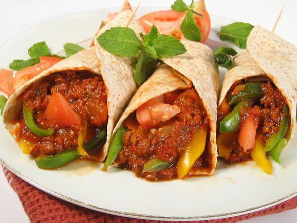 receta de los burritos mexicanos