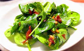 Receta de ensalada de espinaca con balsamico