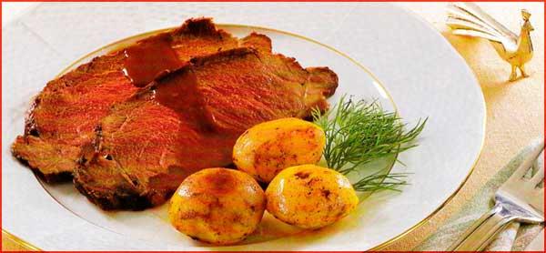 Receta de Roast-beef