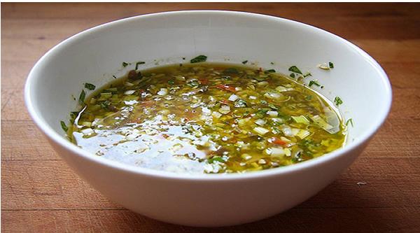 Receta de salsa de vinagreta