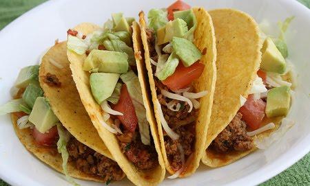 Receta de Tacos de Pavita