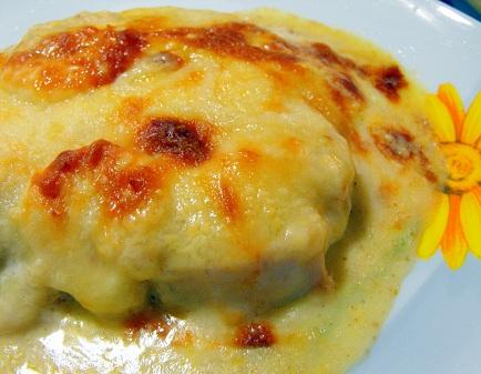 Receta Pollo con queso