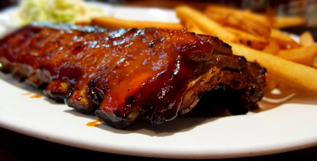 Receta de costillas de cerdo BBQ
