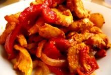 Receta de pollo con paprika