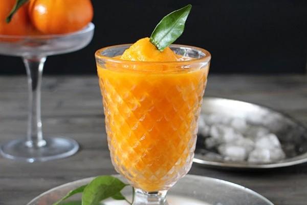 Granizado de mango y champan