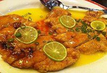 Receta de pollo oriental con limon