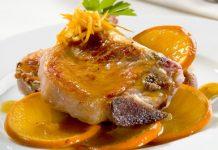 Receta de cerdo en salsa de naranja